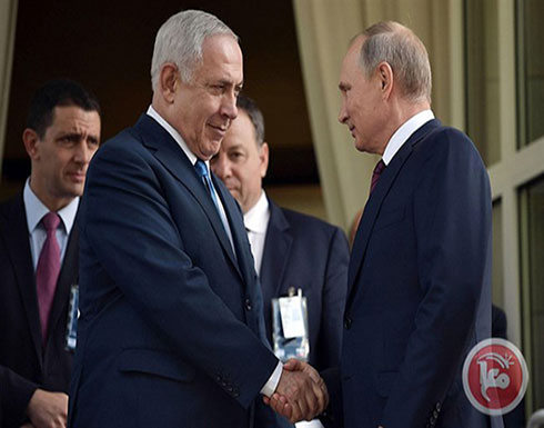 نتنياهو يجتمع مع بوتين في موسكو