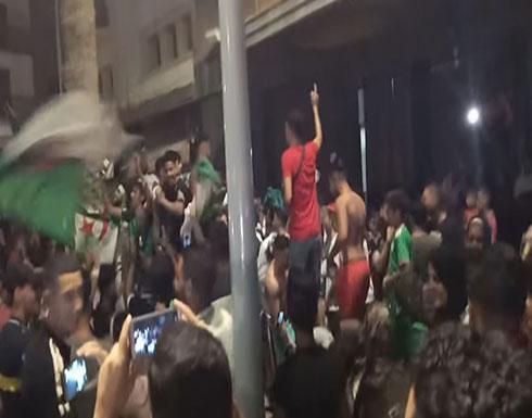 شاهد.. احتفالات جزائرية بباريس بالتأهل لنهائي كأس أفريقيا