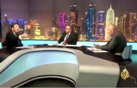فيصل القاسم ينفعل على أحد ضيوفه: من بيت أبوك يابن الستين ألف صرماية -فيديو