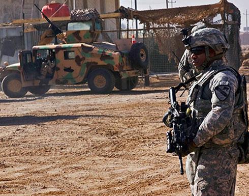 العراق.. سقوط صواريخ على معسكر فيه قوات أميركية