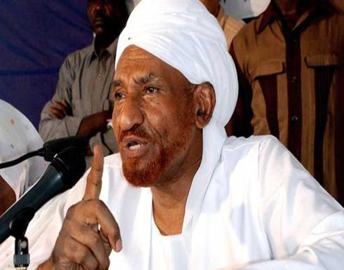 المهدي يستبعد لقاء بين الرئيسين الأمريكي والسوداني في الرياض