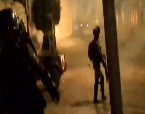 شاهد : الجيش الإسرائيلي يقتحم عدة مدن في الضفة الغربية