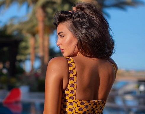 ياسمين صبري تُثير الشكوك حول حقيقة حملها (صورة)