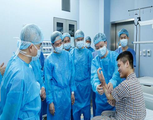 فيتنام.. أول عملية زراعة يد في العالم من متبرع حي