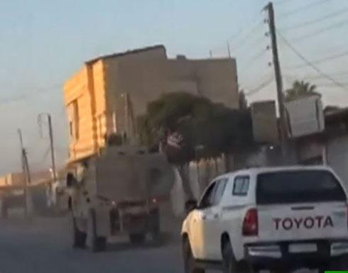 شاهد : القوات الأمريكية تبدأ الانسحاب من شمال سوريا