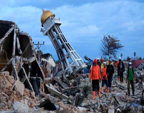خمسة آلاف شخص في عداد المفقودين في منطقتين مدمرتين جراء زلزال إندونيسيا