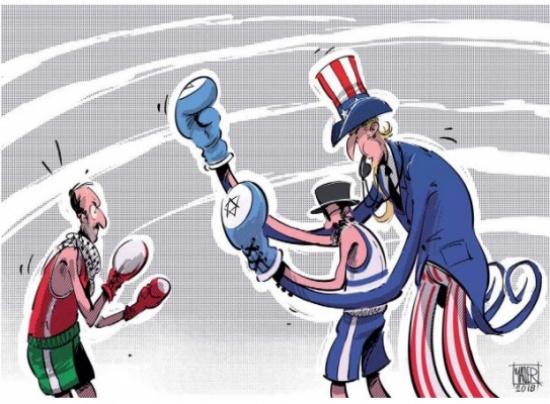 امريكا وعملية السلام