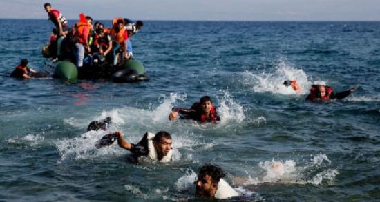 345 ألف لاجئ وصلوا أوروبا عبر البحر المتوسط في 2016