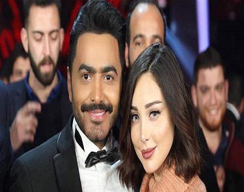 صورة جريئة.. زوجة تامر حسني تستعرض جمالها.. شاهد