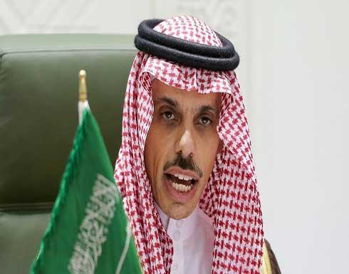 """وزير الخارجية السعودي يبحث مع نظيره الأمريكي آخر التطورات """"في فلسطين والمنطقة"""""""