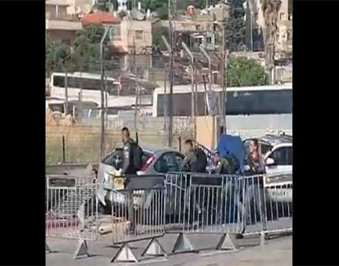 بالفيديو: إصابة 6 من شرطة الاحتلال بعملية دهس في الشيخ جراح بالقدس