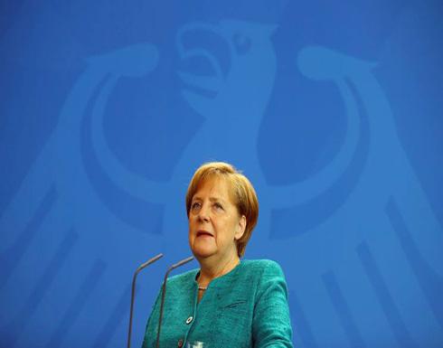 ميركل تشعر بالقلق من تأثير عقوبات أمريكية ضد روسيا على أوروبا