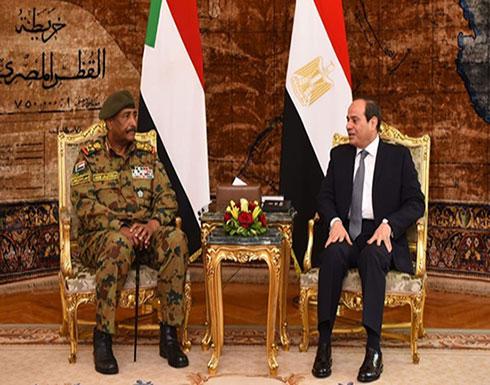 بدء أول اجتماع عسكري بين مصر والسودان بعد البشير