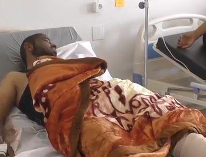 شاهد...عشرات الجرحى في مشافي الحسكة عقب تفجيرين استهدفا تجمع للنازحين جنوبي سوريا