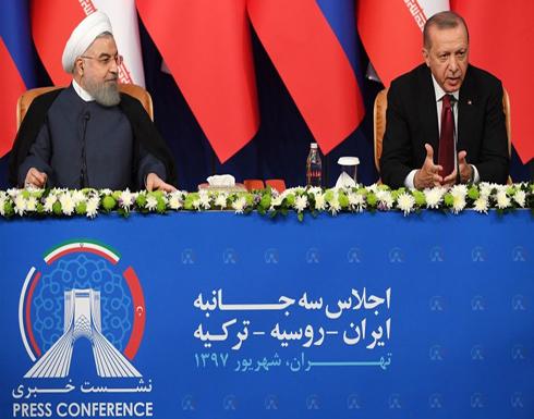 أردوغان يلقي بيتا لشاعر فارسي شهير.. ويحرج روحاني (شاهد)