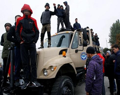 فرض حالة الطوارئ في قرغيزستان والجيش ينزل إلى شوارع العاصمة