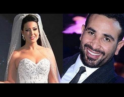 طلاق أحمد سعد من سمية الخشاب