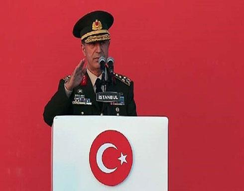 وزير الدفاع التركي: مستعدون لاستئناف هجومنا شمال شرق سوريا إذا لم ينفذ وقف إطلاق النار