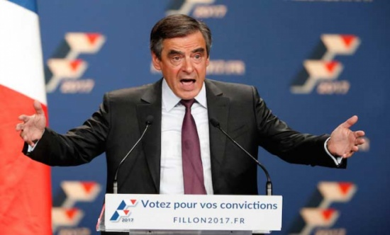 المرشح الرئاسي الفرنسي فيون يصف الاسد بانه ديكتاتور