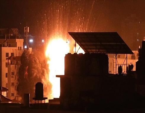 """جيش الإحتلال يعلن استهداف منازل قادة بـ""""حماس"""" في غزة"""