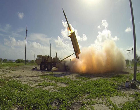 """أميركا تنشر نظام """"ثاد"""" الصاروخي الدفاعي في إسرائيل"""