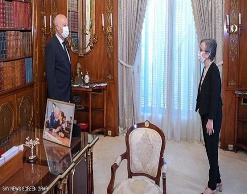 قيس سعيد يعين نجلاء بودن رئيسة للحكومة التونسية