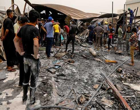 وزارة الصحة العراقية: حصيلة قتلى حريق مستشفى الناصرية 60 شخصا