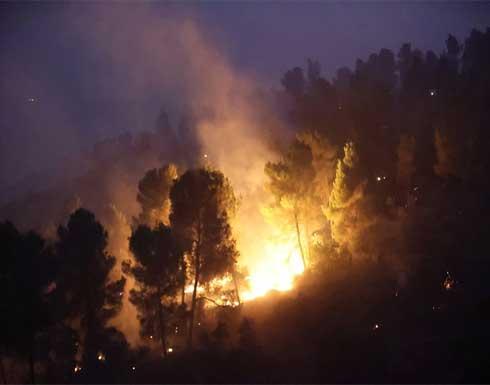 بعد السيطرة على الحرائق بالقدس .. لابيد وغانتس يشكران الرئيس الفلسطيني للمساعدة