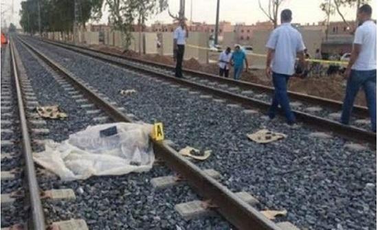 صادم  وضعت مولودتها في الشارع.. وأغرقتها .. ثم انتحرت أمام القطار في القاهرة