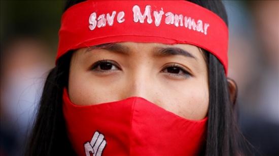 """""""رايتس ووتش"""" تطالب بوقف تمويل مجلس ميانمار العسكري بعائدات الطاقة"""