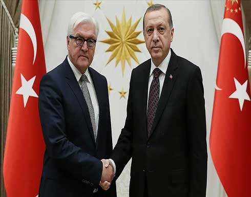 أردوغان يبحث مع نظيره الألماني قضايا إقليمية