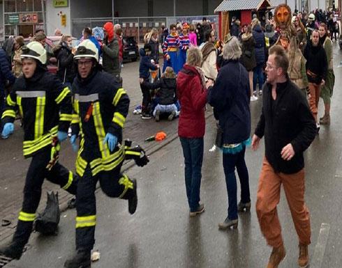 ألمانيا.. إصابة 15 شخصا على الأقل في حادثة دهس (صور)
