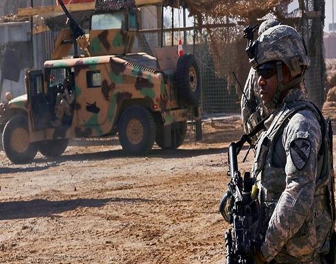 استهداف الجانب الأميركي من معسكر التاجي بالعراق بصاروخين