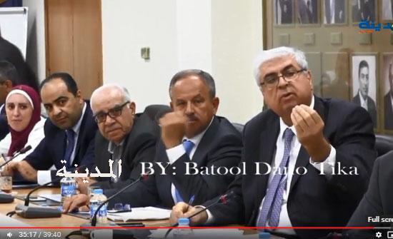شاهد بالفيديو : اجتماع عاصف في  لجنة الاقتصاد بين الحكومة وشركات الوساطة المالية بسبب الضريبة