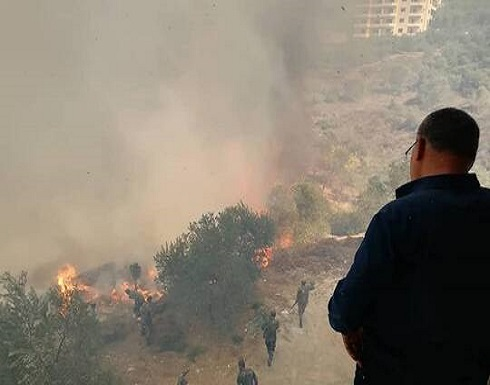 شاهد : وفاة شخصين وحالات اختناق وأراض صارت رمادا في سوريا