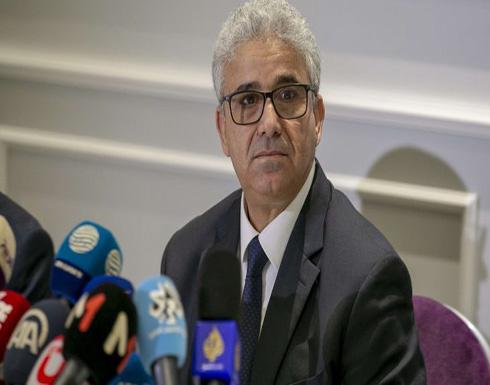 نجاة وزير الداخلية الليبي من محاولة اغتيال غربي طرابلس (صورة)