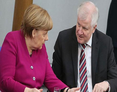 """وزير الداخلية الألماني: لن أسمح بإقالتي من مستشارة """"أصبحت في منصبها بفضلي"""""""