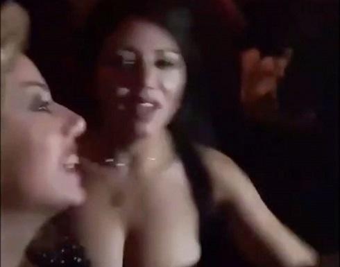 شاهد.. وصلة رقص لـ رانيا يوسف تثير الجدل