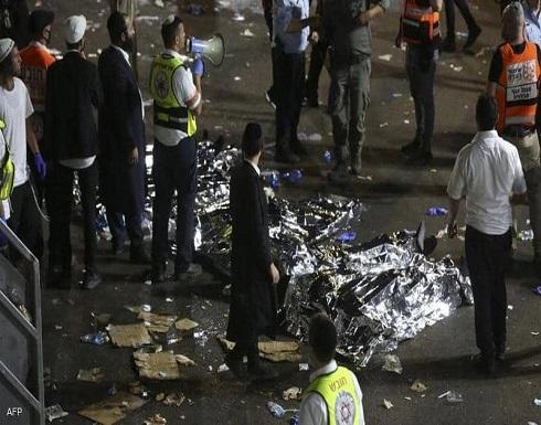 شاهد : 200 قتيل وجريح في تدافع باحتفال ديني يهودي بإسرائيل