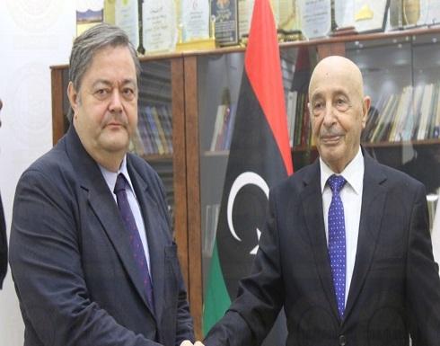 صالح: يجب خروج القوات الأجنبية وإجراء انتخابات ليبيا بموعدها
