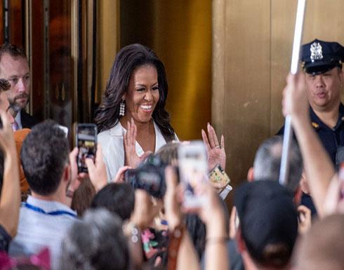 ميشيل أوباما تتلفظ بكلمة بذيئة وتشعل الجدل بأمريكا (شاهد)