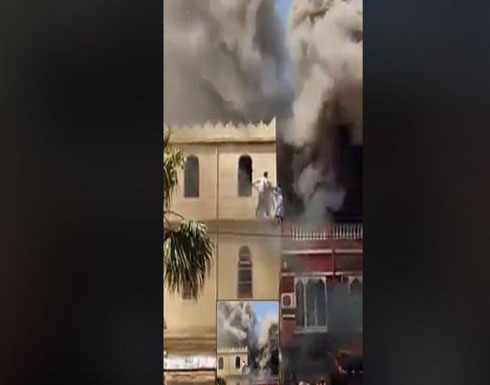 شاهد : شاب جزائري ينقذ امرأتين من حريق مهول