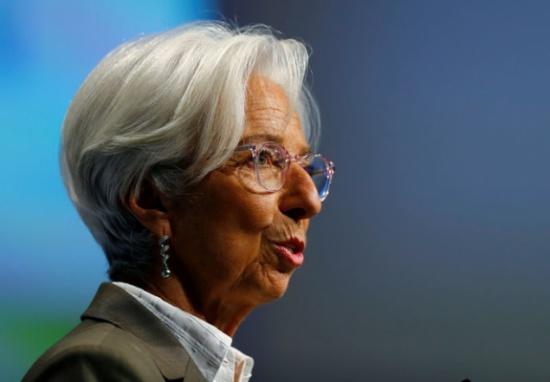 لاجارد: مهمة المركزي الأوروبي الحفاظ على استقرار قيمة اليورو