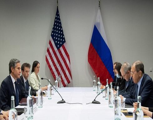 لافروف و بلينكن: علينا تحديد مستقبل علاقاتنا والاستفادة من الإمكانيات الدبلوماسية