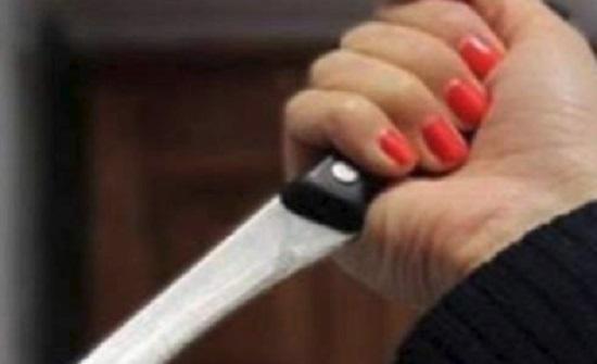 القبض على اردنية قتلت زوجها طعنا في عمان