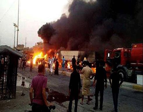 بالفيديو: عشرات القتلى والجرحى في انفجار سيارة في حي البياع جنوب بغداد