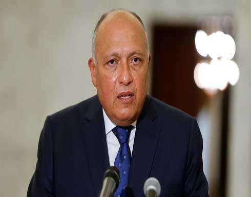 شكري : مصر قادرة على الدفاع عن مصالح شعبها المائية