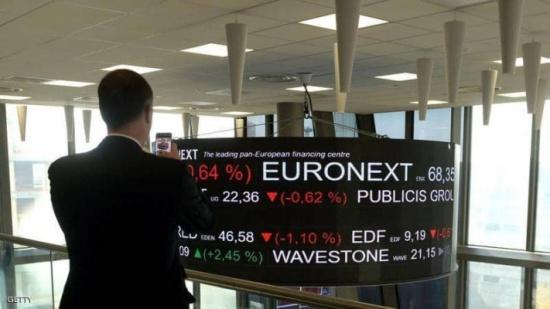 توترات الشرق الأوسط تهبط بالأسهم الأوروبية