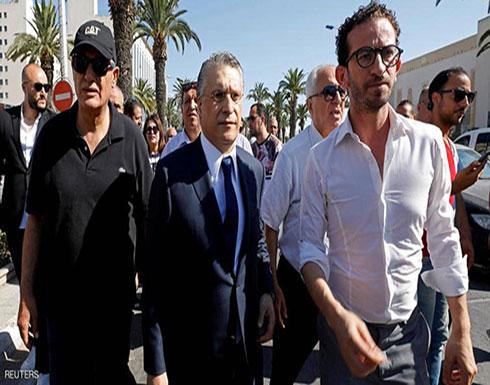 فيديو للحظة اعتقال مرشح انتخابات الرئاسة في تونس نبيل القروي
