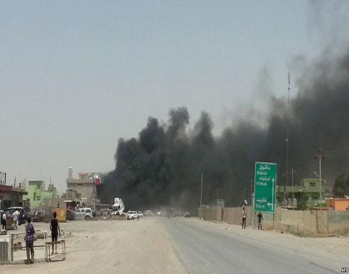 صدامات مسلحة بين قوات عراقية ومليشيات قرب كركوك